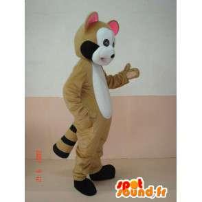 Maskot lasička dříví. lemur kostým. rychlé dodání - MASFR00644 - lesní zvířata