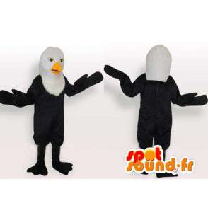 Black Eagle Mascot Lichtgewicht model met minimale lift - MASFR00650 - Mascot vogels