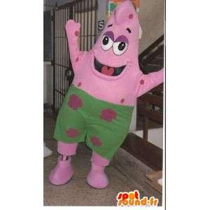 Mascot Patrick sjøstjerner venn SpongeBob - Kostyme