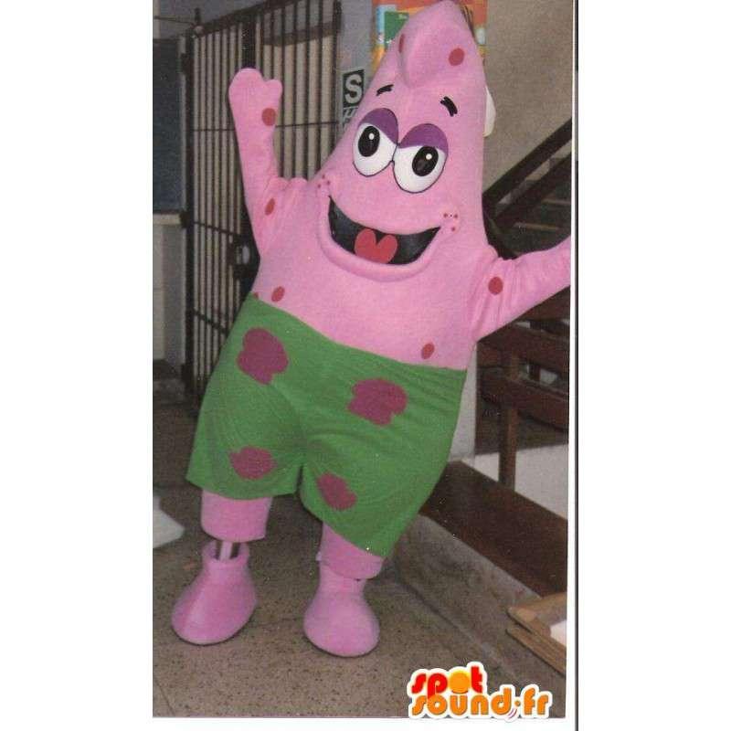 Μασκότ Patrick αστερίες φίλο Μπομπ Σφουγγαράκης - Κοστούμια - MASFR00710 - Sea Star Μασκότ