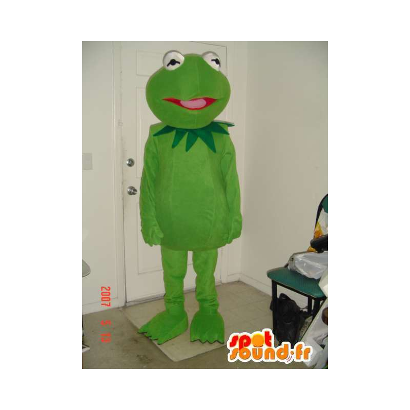 Mascota de la rana verde webbed sencilla - traje de la rana - MASFR00711 - Rana de mascotas