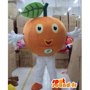 Μασκότ μανταρίνι φρούτα / πορτοκαλί - maraicher Κοστούμια - MASFR00793 - φρούτων μασκότ