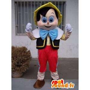 Pinocchio mascote - traje famoso - desenhos animados