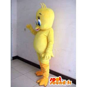 Mascot head - Canary Yellow - Cartoon Tweety and Sylvester - MASFR00180 - Mascots Tweety and Sylvester