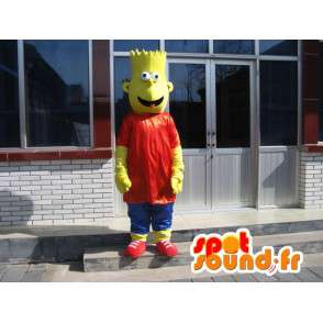 Mascotte Bart Simpson - The Simpsons in vermomming - MASFR00155 - Mascottes The Simpsons