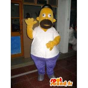 Kostium maskotki Homer Simpson - Cartoon - model II - MASFR001018 - Maskotki The Simpsons