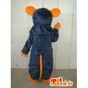 Orange and blue mouse mascot costume special ratatouille - MASFR00800 - Mouse mascot