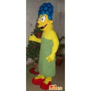 Mascot av familien Simpson - Marge Simpson Costume