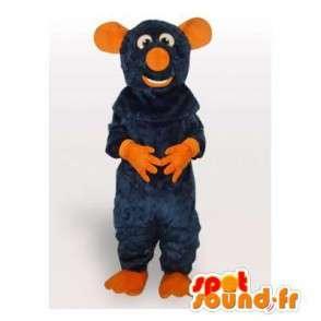 πορτοκαλί και μπλε μασκότ του ποντικιού κοστούμι ειδικές ρατατούιγ - MASFR00800 - ποντίκι μασκότ