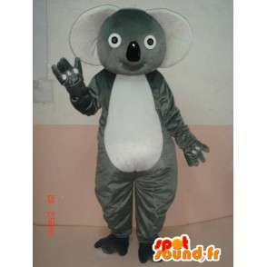 Koala Gray Mascot - panda bamboe Costume snelle verzending - MASFR00225 - Mascot panda's