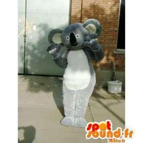 Maskottchen Koala Grey - Kostüm Bambus Panda schneller Versand - MASFR00225 - Maskottchen der pandas
