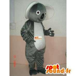Koala Harmaa Mascot - panda bambu Costume nopea lähetys - MASFR00225 - maskotti pandoja