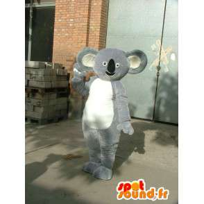 Koala Mascot - grigio bambu spedizione costume panda veloce - MASFR00225 - Mascotte di Panda