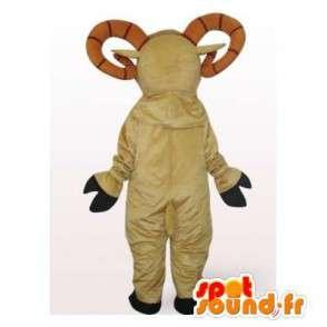 マスコットピレネー山脈のアイベックス - ぬいぐるみ羊 - ヤギコスチューム - MASFR00320 - マスコットとヤギヤギ