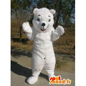 Polar Bear mascot - Disguise quality fiber