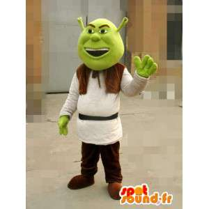 Maskot Shrek - Ogre - Rychlé dodání převlek