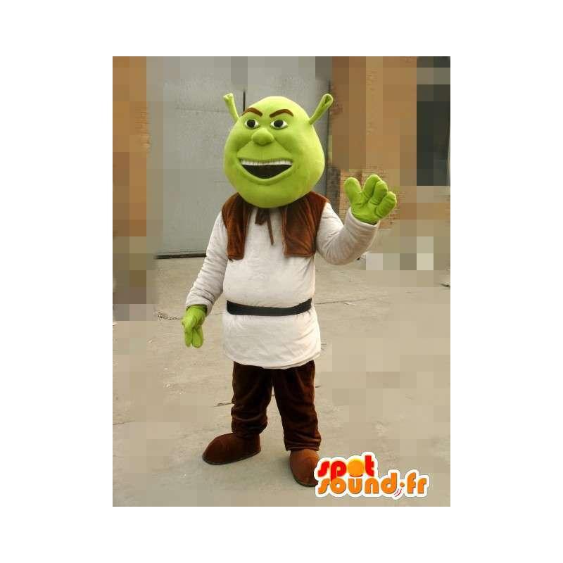Maskot Shrek - Ogre - Rychlé dodání převlek - MASFR00150 - Shrek Maskoti