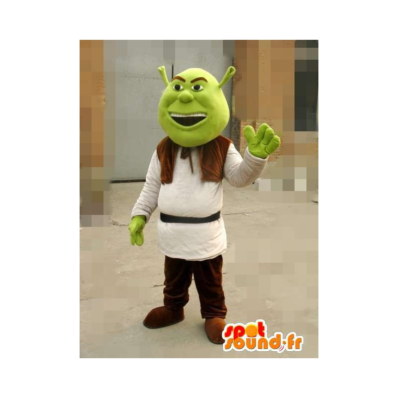 Maskot Shrek - Ogre - Snabb och försiktig transport av