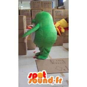 Tenuta Mascot webbed verde e bianco con accessori - MASFR00821 - Sigillo di mascotte