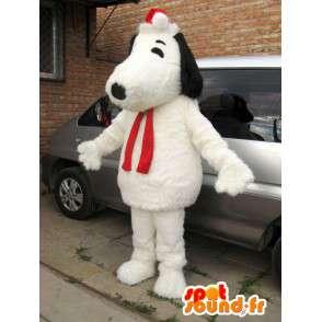 Hund Snoopy Plüsch Maskottchen und Weihnachts Zubehör - MASFR00825 - Hund-Maskottchen