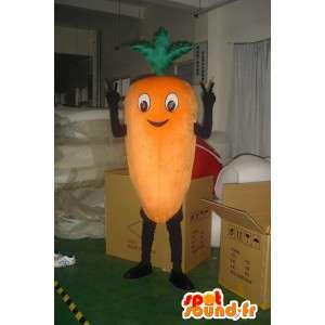 Mascot cenoura gigante - traje ideal para jardineiros