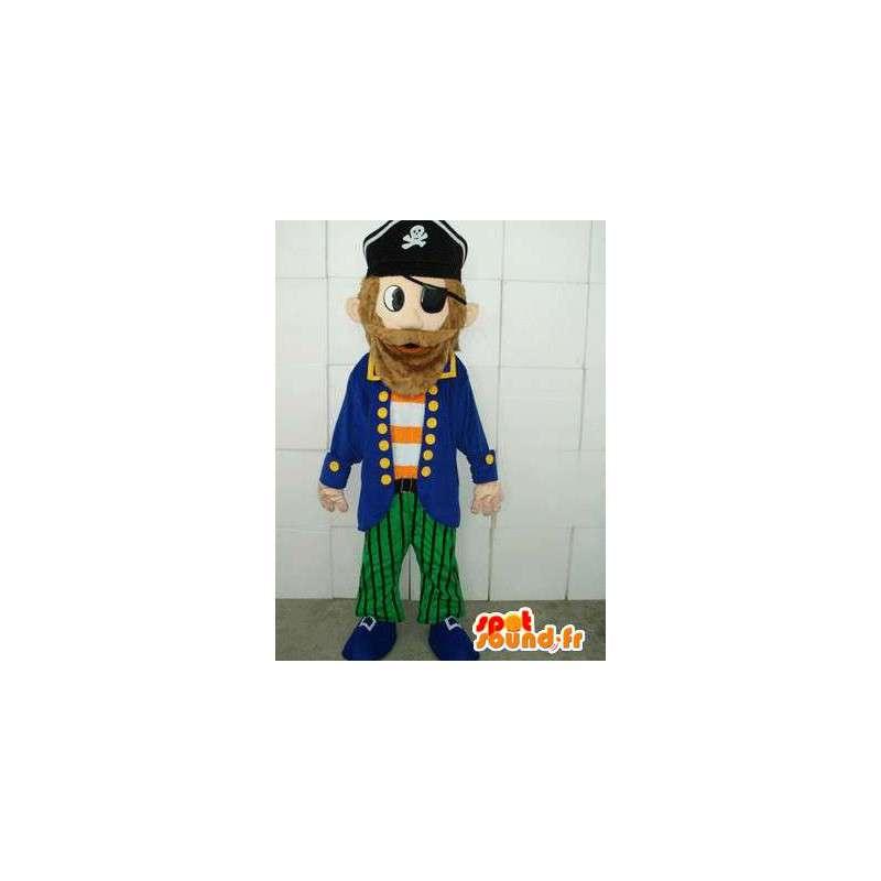 Pirate Mascot - qualita Costume e costume - Trasporto veloce - MASFR00117 - Mascottes de Pirate