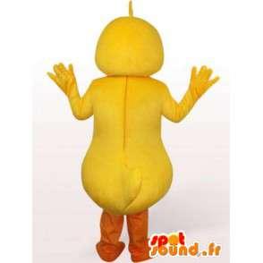 Amarillo de la mascota del pato - accesorio del traje de baño por la noche - MASFR00241 - Mascota de los patos