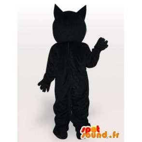 Μασκότ Felix η μαύρη και άσπρη γάτα - Κοστούμια μεγέθη - MASFR00864 - Γάτα Μασκότ