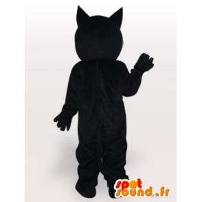 Felix the Cat mascot black and white - Costume all sizes - MASFR00864 - Cat mascots