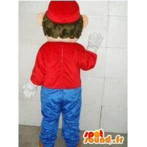 Mascot Mario - vídeo personagem do jogo mascote POLYFOAM - MASFR00100 - Mario Mascotes