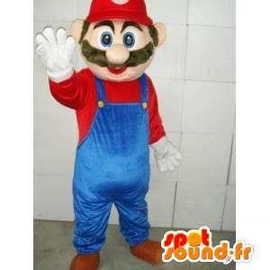 Mascot Mario - videospill karakter maskot Skumplast