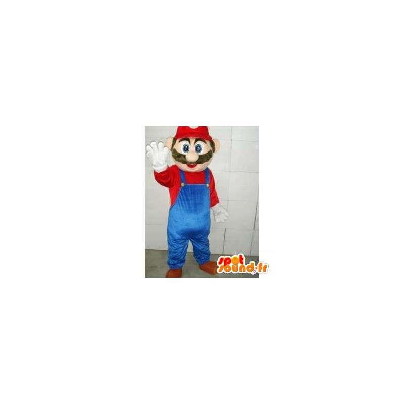 Maskottchen Mario - Charakter Videospiel-Maskottchen Polyfoam - MASFR00100 - Maskottchen Mario