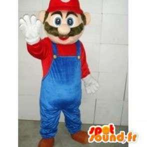 Μασκότ Mario - βίντεο χαρακτήρα παιχνίδι μασκότ πολυστυρένιο - MASFR00100 - Mario Μασκότ