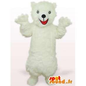 Lední medvěd maskot - kvalita Disguise vlákno - MASFR00152 - Bear Mascot