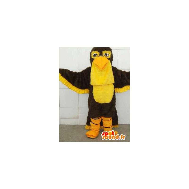 Eagle Mascot Gul - Express frakt og ryddig - Kostyme - MASFR00112 - Mascot fugler