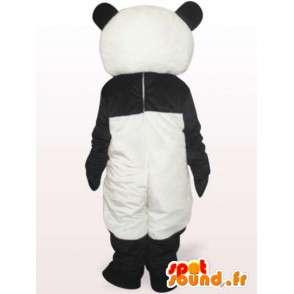 Svart og hvit panda maskot - Rask levering - MASFR001045 - Mascot pandaer