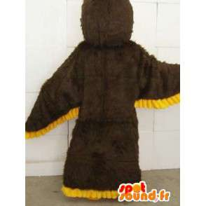 Yellow Eagle mascot - fast shipping and neat - Costume - MASFR00112 - Mascot of birds