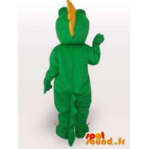 Maskot aligator / Krokodýl drak stylu - Green Pet - MASFR00563 - maskot krokodýli