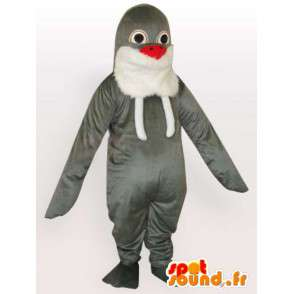 Mascot Seal classic Gray - Boat kijken vanuit Plush - MASFR00285 - mascottes Seal