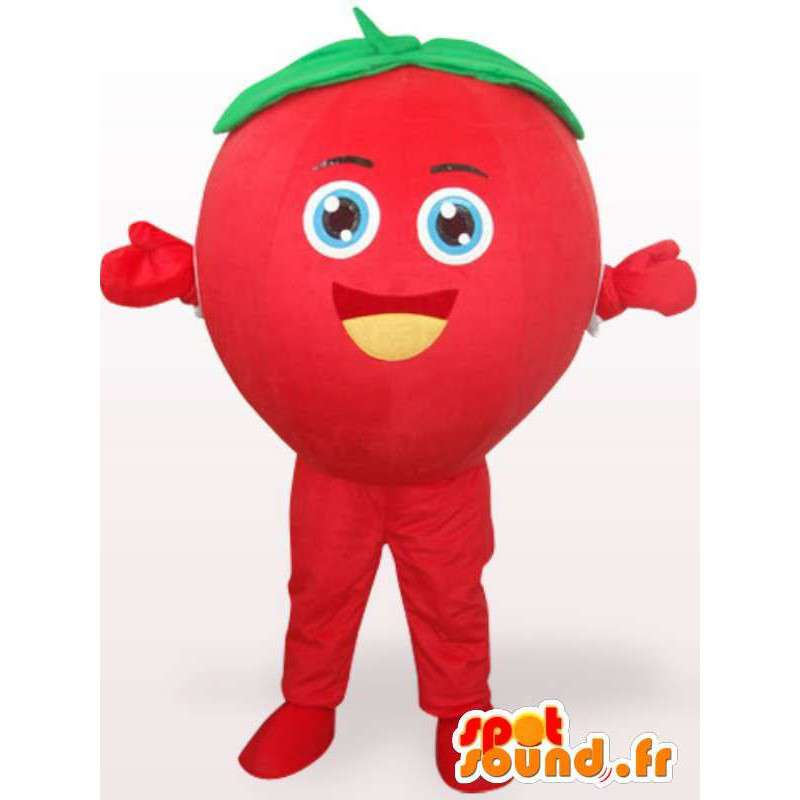 Strawberry mascot Tagada - Costume forest fruit - red fruit - MASFR00271 - Fruit mascot