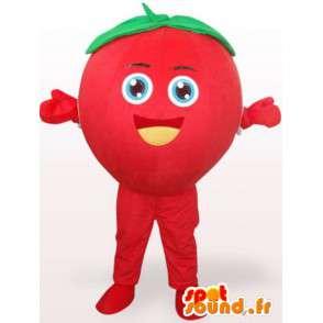 Μασκότ Φράουλα Tagada - δάσος κοστούμι φρούτων - κόκκινα φρούτα - MASFR00271 - φρούτων μασκότ