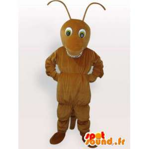 Insect Mascot - brun maur - Rask levering Garment
