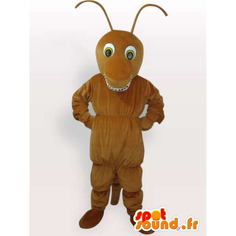 Insect Mascot - brown ant - Fast shipping Garment - MASFR00224 - Ant Mascottes