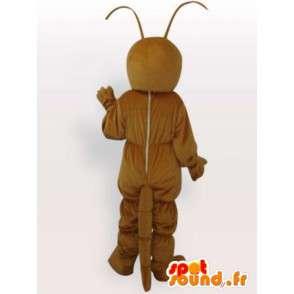 Mascotte Insecte - Fourmi marron - Envoi rapide après confection - MASFR00224 - Mascottes Fourmi