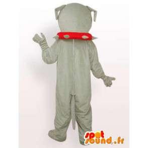 Mascot boulldog cane - ballo in costume con accessori per cani - MASFR00246 - Mascotte cane