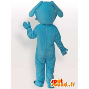 Mascot klassieke Blauwe Hond - Animal Pluche avond - MASFR00283 - Dog Mascottes