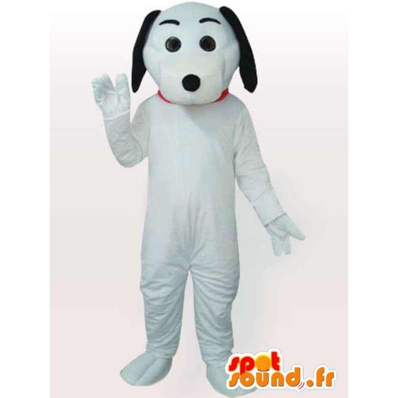 Perro de la mascota con guantes blancos y negros y zapatos blancos - MASFR00693 - Mascotas perro
