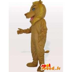Amarillento mascota León con accesorios - Traje de Savannah - MASFR00745 - Mascotas de León