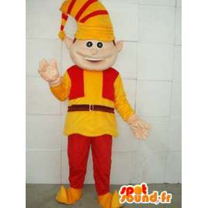 Clown mascot - Lutin - Suit for Christmas celebrations