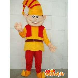 Mascotte Clown - Lutin - Costume pour les fêtes de noel